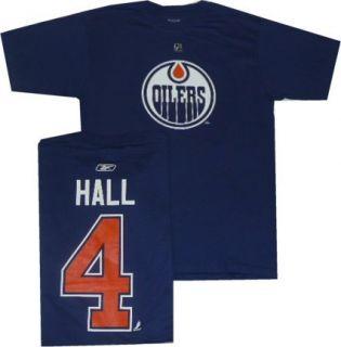 Edmonton Oilers Taylor Hall T Shirt Jersey XXL Royal Blue