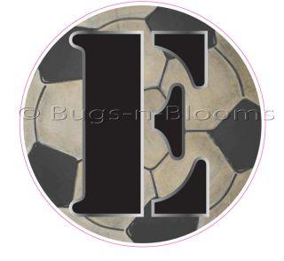 Soccer Ball Letter Boy Sport Name Alphabet Wall Sticker Mural Vinyl