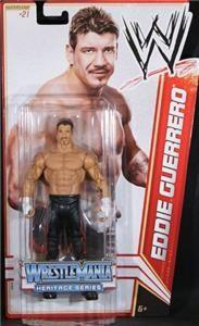 Eddie Guerrero WWE Mattel Basic Series 16 Wrestlemania Action Figure