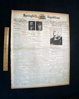 Omaha NE Race Riot Negro Lynching Burnt William Brown 1919 Newspaper