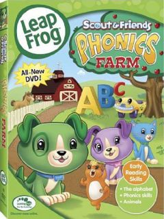 Leap Frog Phonics Farm Canadian Release New DVD