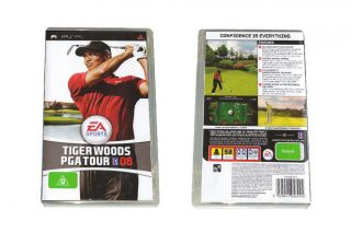 Ea Sports Tiger Woods PGA Tour 08 PSP Game New Very RARE 0014633154863