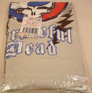 Grateful Dead T Shirt Size Medium M Distressed Steal Your Face Logo