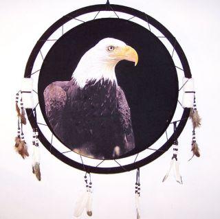 War Shields Eagle Head Dream Catcher Eagles Wall Art Medallion Home