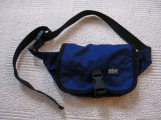 Eagle Creek Fanny Pack Waistpack Blue Bag Waist Travel Gear Hiking