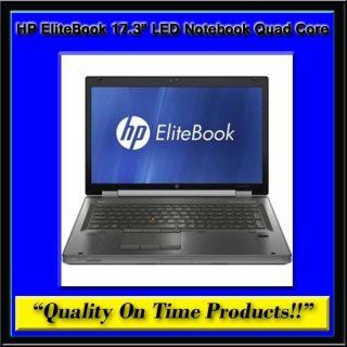8760w 17 3 LED Notebook Quad Core i7 i7 2 5GHz Intel RAM DVDR