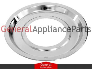 GE General Electric Gas Stove Range Cooktop 8 1 4 Chrome Drip Pan