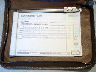 Dot Drivers Daily Log Book Folder