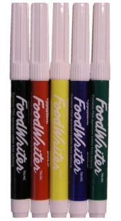 Foodwriter Bold Tip Primary Color Edible Markers Cookies Cakes