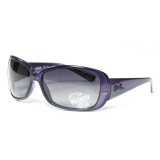 Smith Womens Shoreline Eggplant Sunglasses with Grey Gradient Lens