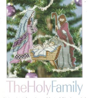 Plastic Canvas Pattern Nativity Scene Christmas Ornament