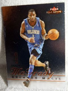 2003 04 Fleer Mystique Tracy McGrady Orlando Magic 6