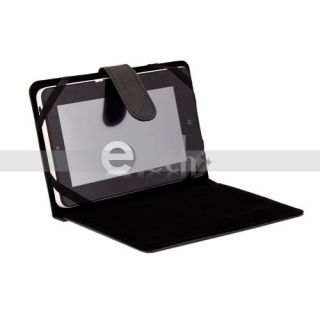 Case Stand Cover for Tablet PC PDA Mid eBook Reader Black