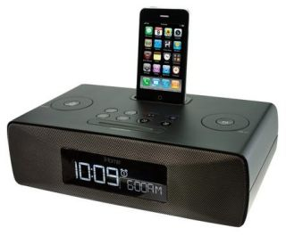 iHome IP87 Dual Alarm Clock Radio for iPhone iPod with Am FM Presets