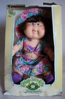 RARE 1988 CABBAGE PATCH KIDS DOLL EL GRECO HASBRO GREEK NEW MIB