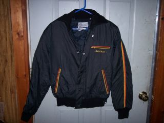 Vintage Ski Doo Bombardier Snowmobile Jacket Made in USA