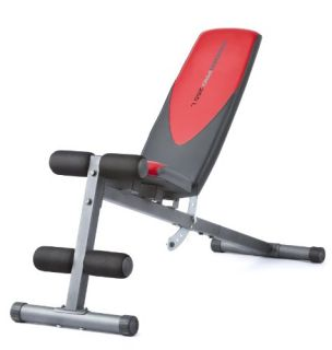 Weider Incline Weight Bench Dumbbell Weight Lifting Workouts Durable 2