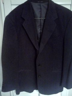 Mens Charcoal Gray Blazer Sport Coat Suit Jacket 40R