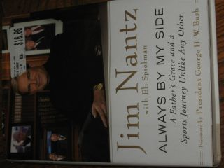 Jim Nantz CBS Authentic Hand Signed Autograph Book Auto Hardcover