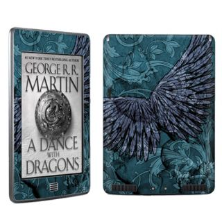 Vinyl Case Decal Skin to Cover  Kindle Touch eBook Tablet