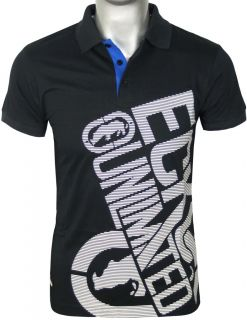 Ecko Unltd Polo T Shirt Mens New Blue Size s M L XL XXL