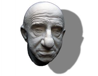 Jimmy Durante Life Mask Mad Mad Mad Mad World, The Man Who Came To