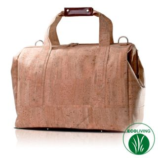 Hand Luggage Travel Bag Natural Cork Eco Friendly New