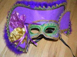 Mardi Gras New Masquerade Party Red Pirate Womens Mask Halloween Sexy