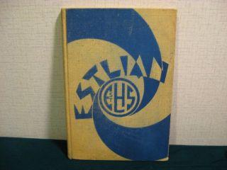1940 East St Louis Illinois High School Yearbook The Estlian