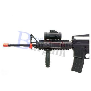 m4 m16 airsoft electric assault rifle m4a1 aeg semi full auto m83a2