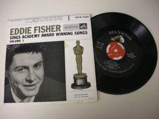 Eddie Fisher 45 Sings Academy Award Winning Songs Vol 1