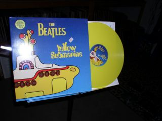 The Beatles Yellow Submarine Colored Vinyl LP