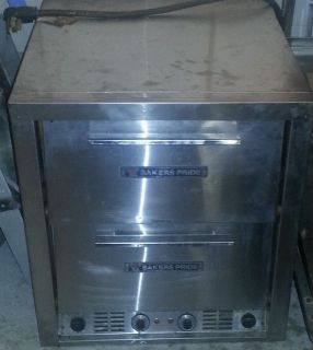 Bakers Pride P44S Electric Countertop Pizza Oven 2 Ovens