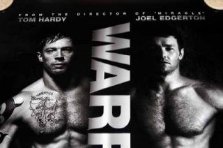 Warrior Poster One Sheet Tom Hardy Nick Nolte Edgerton