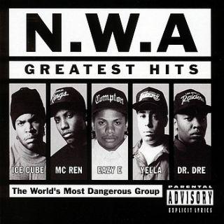 Hits CD New Bonus Tracks NWA Gangsta Rap Ice Cube Eazy E
