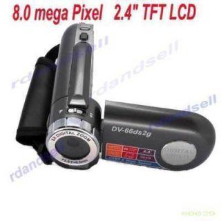 TFT LCD 4X Digital Zoom HD 8MP Digital Video Camcorder Camera DV