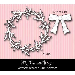 MFT Thin Steel Craft Die Winter Wreath My Favorite Things Die Namics