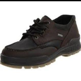 Ecco Mens Track Shoes Low Top Black Gore Tex Size Euro 43 US 9