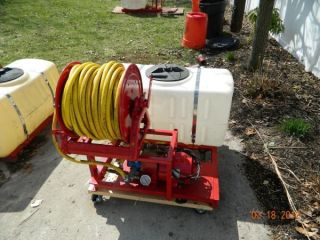 50 Gallon Residex Electric Spray Rig Rebuilt Termite Lawn Care Pest