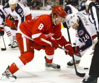 Bauer Vapor apx Detroit Red Wings NHL Pro Stock Hockey Skates 9 D J