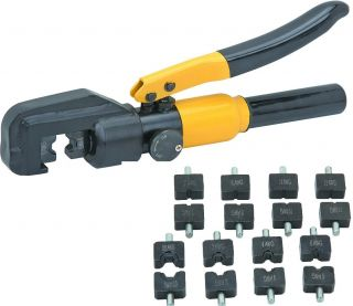New 8 Ton Hydraulic Wire Cable Crimper Electrical Case