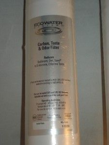 Systems Carbon Taste Odor Water Filter Cartridges Ero 375