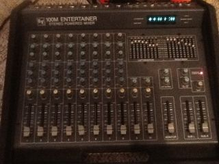 Mixer EV 100M Entertainer Stereo Powered Mixer