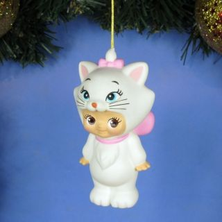 Ornament Xmas Tree Home Decor Disney Kewpie Doll Aristocat Marie N92