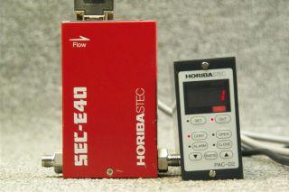 Horiba STEC Mass Flow Controller Sec E40 50SCCM H2O Horiba STEC Pac D2