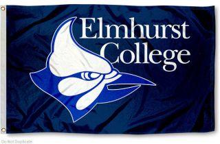 Elmhurst College Bluejays Flag Large 3x5