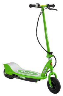 razor e200 electric motorized kids scooter green