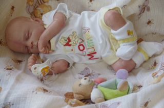 28  Week Baby Early Baby °ELOY° Reborn Boy by Ruth Annette Doll Kit