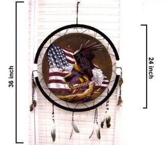 War Shields USA Flag Eagle Dream Catcher Eagles