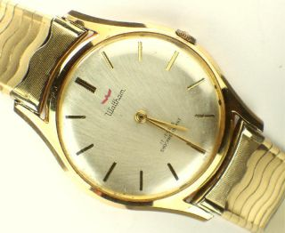 Vintage Waltham Super Thin Mens Watch WORKING 62M